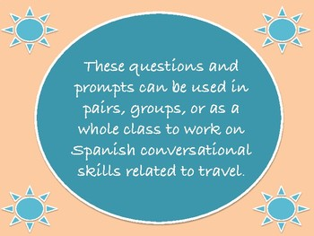 Viajar: Spanish Travel Conversation Topics