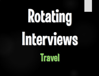 Spanish Travel Rotating Interviews
