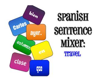 Spanish Travel Sentence Mixer