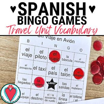 Spanish Travel Unit BINGO