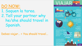 Spanish Travel (Vacaciones y Beneficios de Viajar)