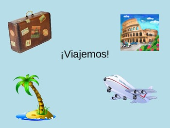 Spanish Travel Vocabulary PowerPoint Viajar PPT