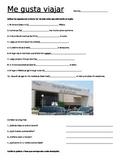 Spanish Travel Vocabulary Practice: Travel vocabulary and