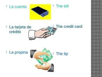 Spanish - Food Vocabulary PowerPoint