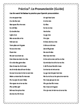 Spanish Travel and Tourism Vocabulary and Practice Handouts