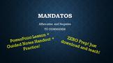 Spanish Tú Commands: Mandatos Notes & Practice