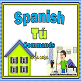 Spanish Informal Commands Practice EN LA CASA