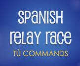 Spanish Tú Commands Relay Race