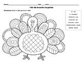 Spanish Turkey Color by Verb