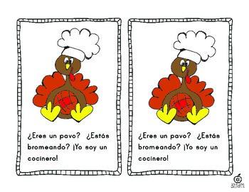 Spanish Turkey Emergent Reader