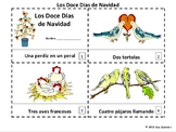 Spanish Christmas - Twelve Days of Christmas Booklets / Navidad