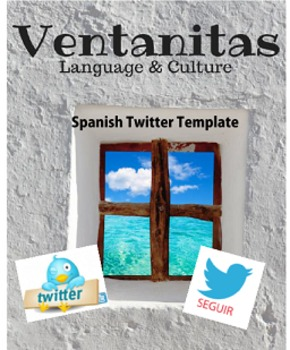 Spanish Twitter Template