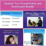 Spanish Two PowerPoints and Curriculum Bundle