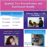Spanish Two PowerPoints and Curriculum Distance Learning