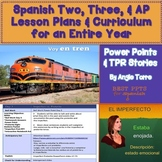 Spanish Two, Three, and AP Spanish Lesson Plans and Curriculum
