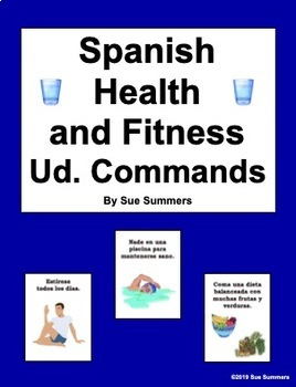 Spanish Ud. Commands Health and Fitness PowerPoint