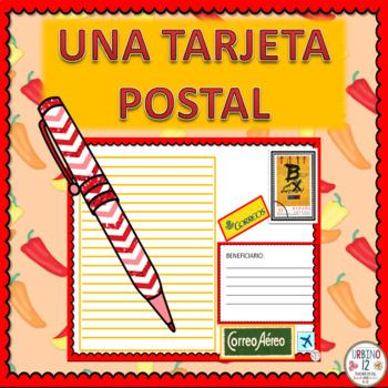 Spanish: Una Tarjeta Postal