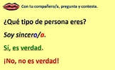 Spanish Unit 1 Lesson 2 The verb Ser & Personality adjectives