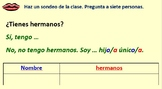 Spanish Unit 1 Lesson 3 Numbers up to 20 & brothers & sisters