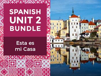 Spanish Unit 2 Bundle: Esta es mi Casa - This is my Home
