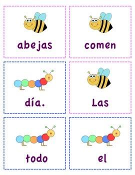 Spanish Scrambled Sentences