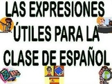 Spanish Useful Classroom Expressions Bulletin Board/Expresiones Utiles