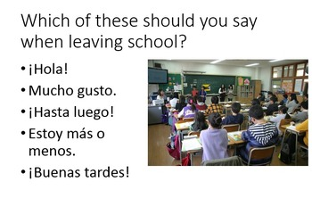 Spanish - Using Greetings and Introductions