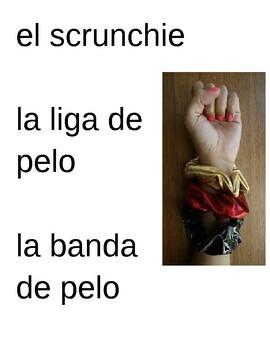 Spanish VSCO girl vocabulary