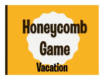 Spanish Vacation Honeycomb Game