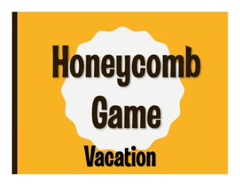 Spanish Vacation Honeycomb Game