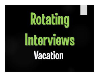 Spanish Vacation Rotating Interviews