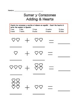 Spanish Valentine Activity Collection for Spanish I