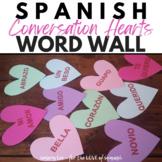 Spanish Valentine's Day Vocabulary Bulletin Board - Spanis