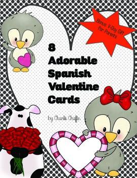 Spanish Valentine Cards