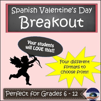 Spanish Valentine's Breakout EDU