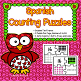 Spanish Valentine's Day Activities : Día de San Valentín - Counting in Spanish