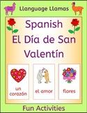 Spanish Valentine's Day - El Día de San Valentín