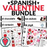 Spanish Valentine's Day - Bundle of Spanish Games and Activities