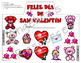 Spanish Valentine's Day Activities: Dia de San Valentin - Craft - Crowns