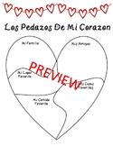Dia de San Valentin/Spanish Valentine's Day Activity: Peda