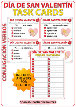 Spanish Valentine's Day Bundle of Activities