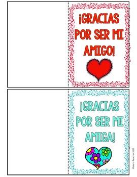Spanish Valentine's Day Cards