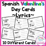 Spanish Valentine's Day Cards Song Lyrics