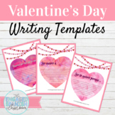 Spanish Valentine's Day Class Decor Writing Prompts