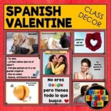 Spanish Valentine's Day Decorations, Posters, Signs, Día d