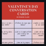 Spanish Valentine's Day Conversation Cards