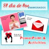 Spanish Valentine's Day El día de los enamorados PowerPoin
