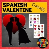 Spanish Valentine's Day Games:  Go Fish and Memory, Día de