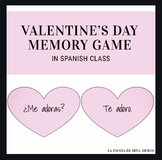 Spanish Valentine's Day: Memory Game with Conversation Hearts!