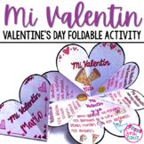 Spanish Valentine's Day:  Mi Valentin Foldable Activity